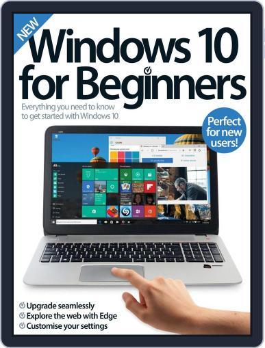 Windows 10 For Beginners Magazine (Digital) June 1st, 2016 Issue Cover