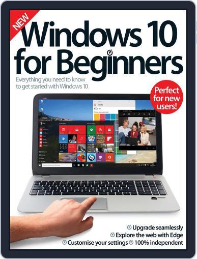 Windows 10 For Beginners Magazine (Digital) February 1st, 2016 Issue Cover
