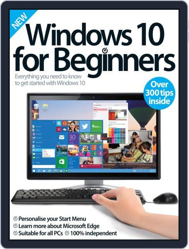 Windows 10 For Beginners Magazine (Digital) October 28th, 2015 Issue Cover