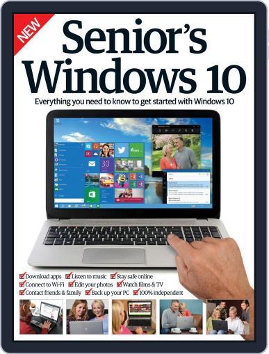 Senior's Edition Windows 10 Magazine (Digital) April 1st, 2016 Issue Cover