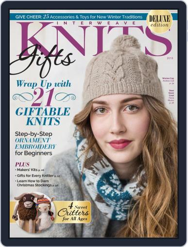 INTERWEAVE KNITS HOLIDAY September 20th, 2018 Digital Back Issue Cover