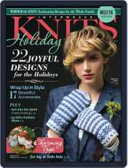 INTERWEAVE KNITS HOLIDAY Magazine (Digital) Subscription August 31st, 2017 Issue