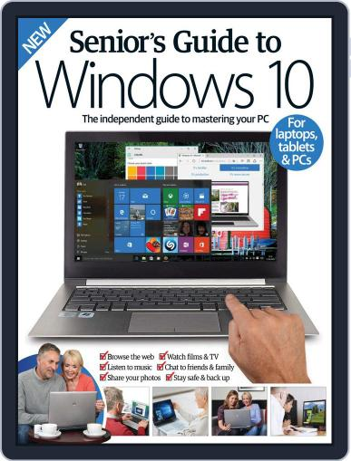 Senior's Guide To Windows 10 Magazine (Digital) July 6th, 2016 Issue Cover