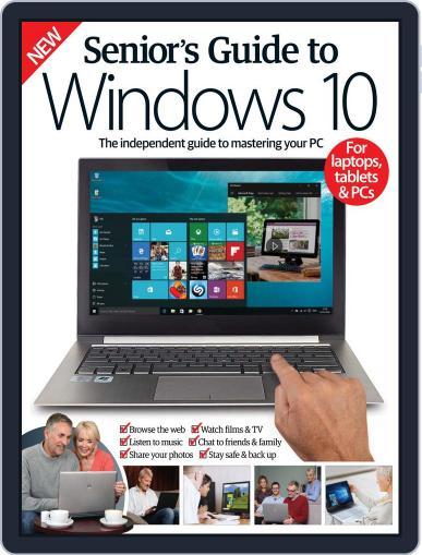 Senior's Guide To Windows 10 Magazine (Digital) February 17th, 2016 Issue Cover