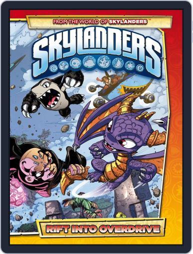 Skylanders Magazine (Digital) September 1st, 2015 Issue Cover