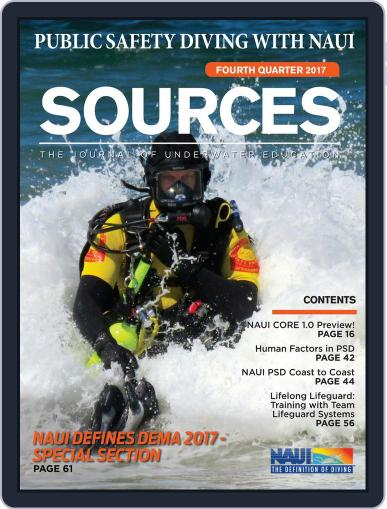 Sources (Digital) October 1st, 2017 Issue Cover