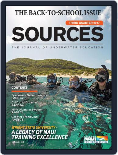 Sources (Digital) July 1st, 2017 Issue Cover