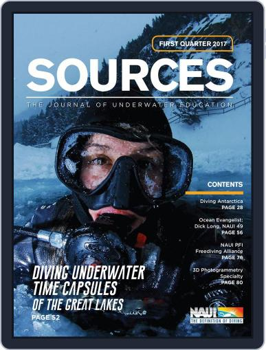 Sources (Digital) January 1st, 2017 Issue Cover