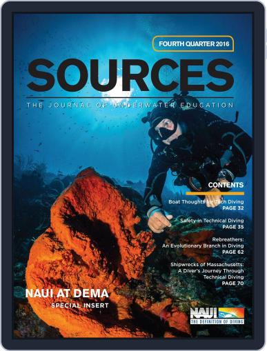 Sources (Digital) December 1st, 2016 Issue Cover