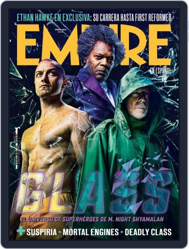 Empire en español (Digital) January 1st, 2019 Issue Cover