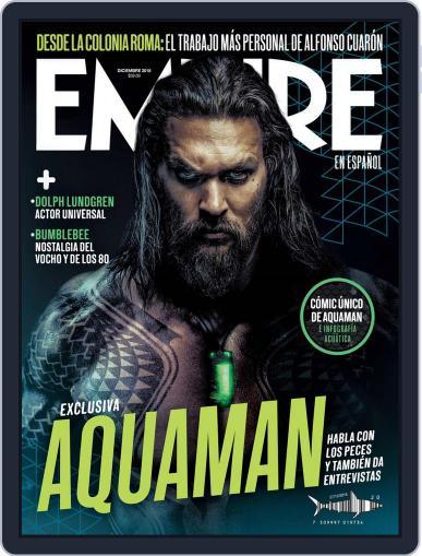 Empire en español (Digital) December 1st, 2018 Issue Cover