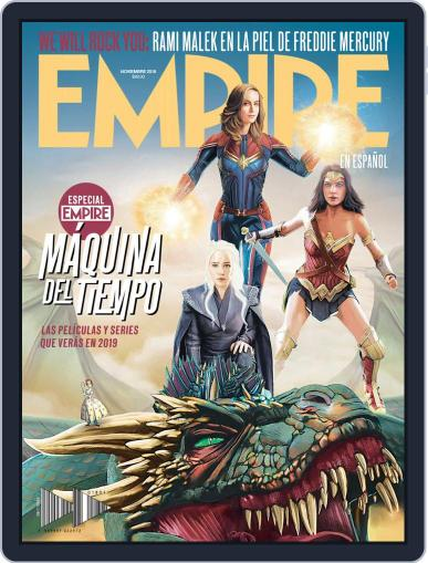 Empire en español (Digital) November 1st, 2018 Issue Cover