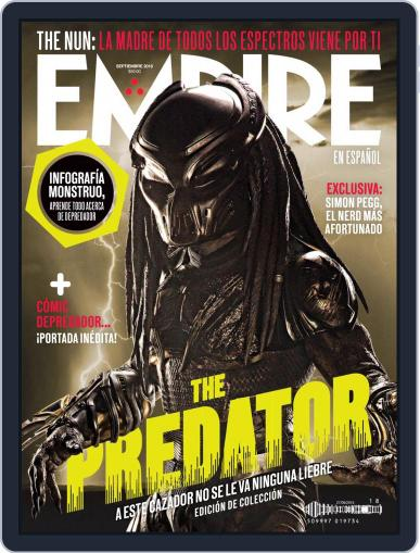 Empire en español (Digital) September 1st, 2018 Issue Cover