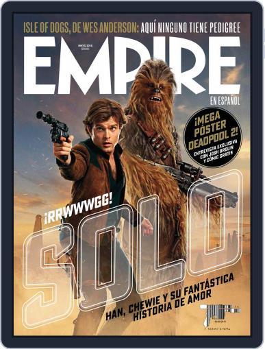 Empire en español (Digital) May 1st, 2018 Issue Cover