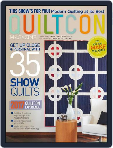 QUILTCON 2017 February 1st, 2017 Digital Back Issue Cover
