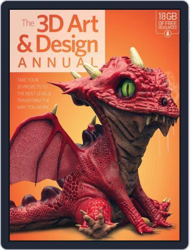 The 3D Art & Design Annual Volume 1 Magazine (Digital) November 1st, 2016 Issue Cover
