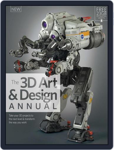 The 3D Art & Design Annual Volume 1 Magazine (Digital) November 4th, 2015 Issue Cover