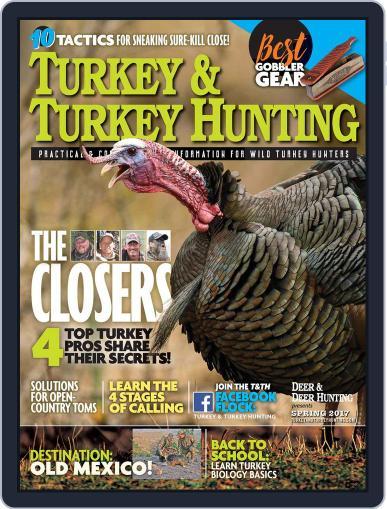 Turkey & Turkey Hunting March 1st, 2017 Digital Back Issue Cover
