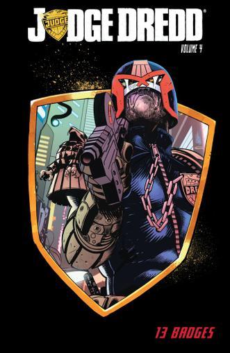 Judge Dredd June 1st, 2014 Digital Back Issue Cover