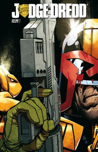 Judge Dredd May 1st, 2013 Digital Back Issue Cover