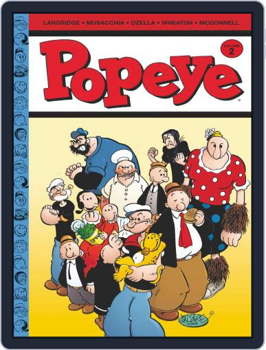 Popeye April 1st, 2013 Digital Back Issue Cover