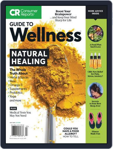 Guide to Wellness July 1st, 2019 Digital Back Issue Cover