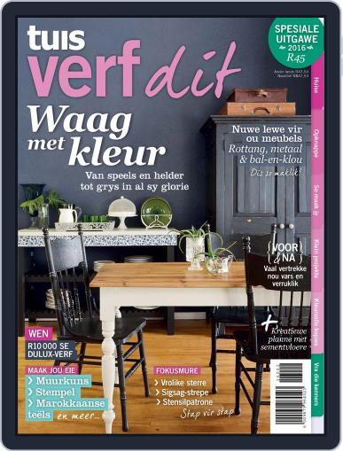 Tuis Verf Dit Magazine (Digital) May 1st, 2016 Issue Cover