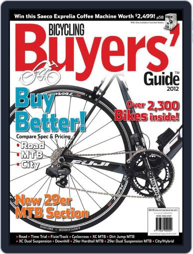Bicycling Buyers' Guide (Digital) November 24th, 2011 Issue Cover