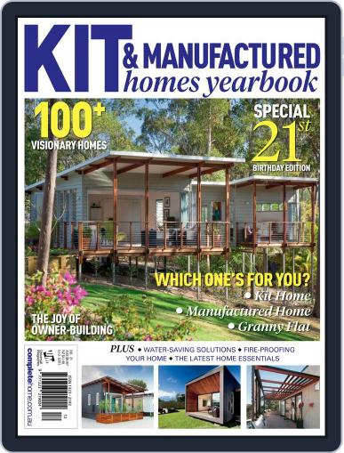 Kit Homes Yearbook February 25th, 2015 Digital Back Issue Cover