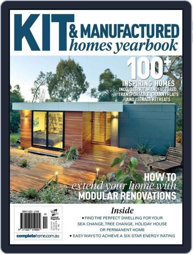 Kit Homes Yearbook January 28th, 2013 Digital Back Issue Cover