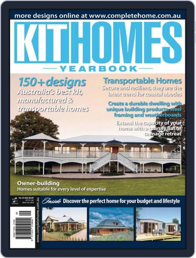 Kit Homes Yearbook February 1st, 2012 Digital Back Issue Cover