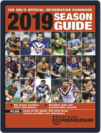 Big League: NRL Season Guide Magazine (Digital) February 25th, 2019 Issue Cover