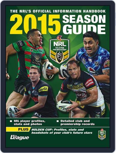 Big League: NRL Season Guide Magazine (Digital) February 1st, 2015 Issue Cover