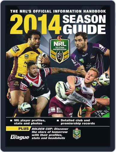 Big League: NRL Season Guide Magazine (Digital) February 14th, 2014 Issue Cover