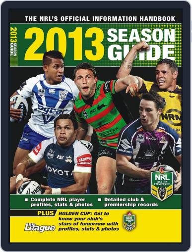 Big League: NRL Season Guide Magazine (Digital) February 18th, 2013 Issue Cover