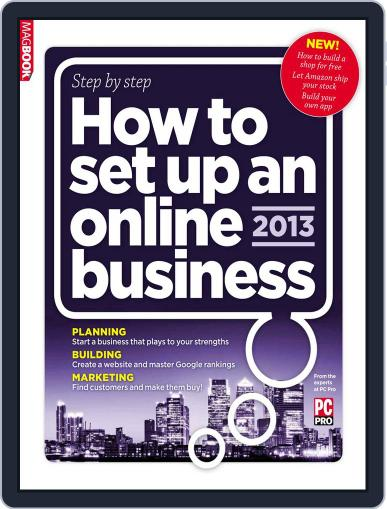 How to set up an Online Business United Kingdom Magazine (Digital) March 6th, 2013 Issue Cover