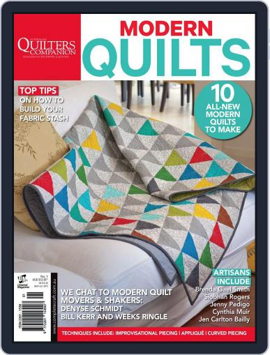 Quilts For Today (Digital) April 3rd, 2014 Issue Cover