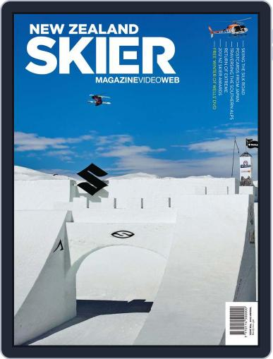 New Zealand Skier Magazine (Digital) May 22nd, 2012 Issue Cover