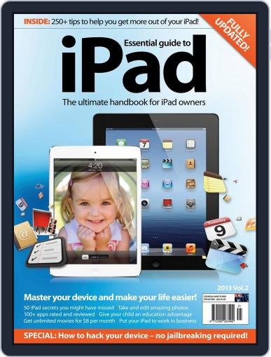 Essential iPad April 9th, 2013 Digital Back Issue Cover