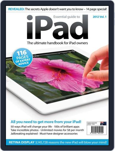Essential iPad July 25th, 2012 Digital Back Issue Cover