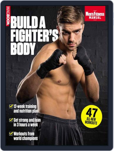 Men's Fitness Build a Fighter's Body Magazine (Digital) December 1st, 2015 Issue Cover