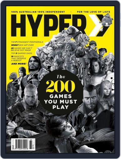 Hyper January 1st, 2018 Digital Back Issue Cover