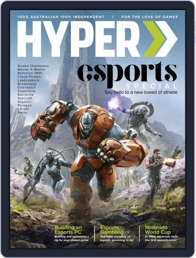 Hyper January 1st, 2017 Digital Back Issue Cover