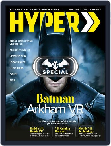 Hyper October 1st, 2016 Digital Back Issue Cover