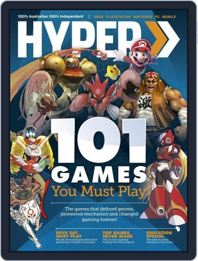 Hyper October 15th, 2015 Digital Back Issue Cover