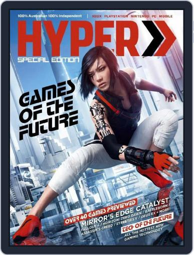 Hyper July 22nd, 2015 Digital Back Issue Cover