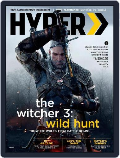 Hyper March 25th, 2015 Digital Back Issue Cover