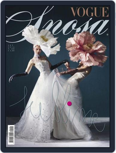 Vogue Sposa September 1st, 2016 Digital Back Issue Cover