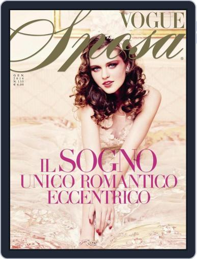 Vogue Sposa January 8th, 2016 Digital Back Issue Cover
