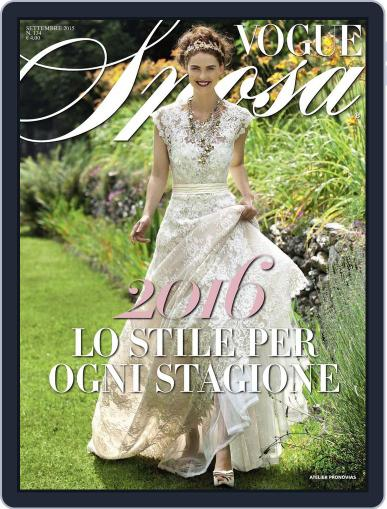 Vogue Sposa September 10th, 2015 Digital Back Issue Cover